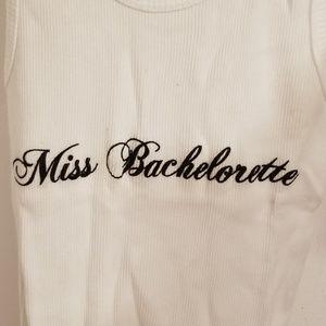 Miss Bachelorette White Tank